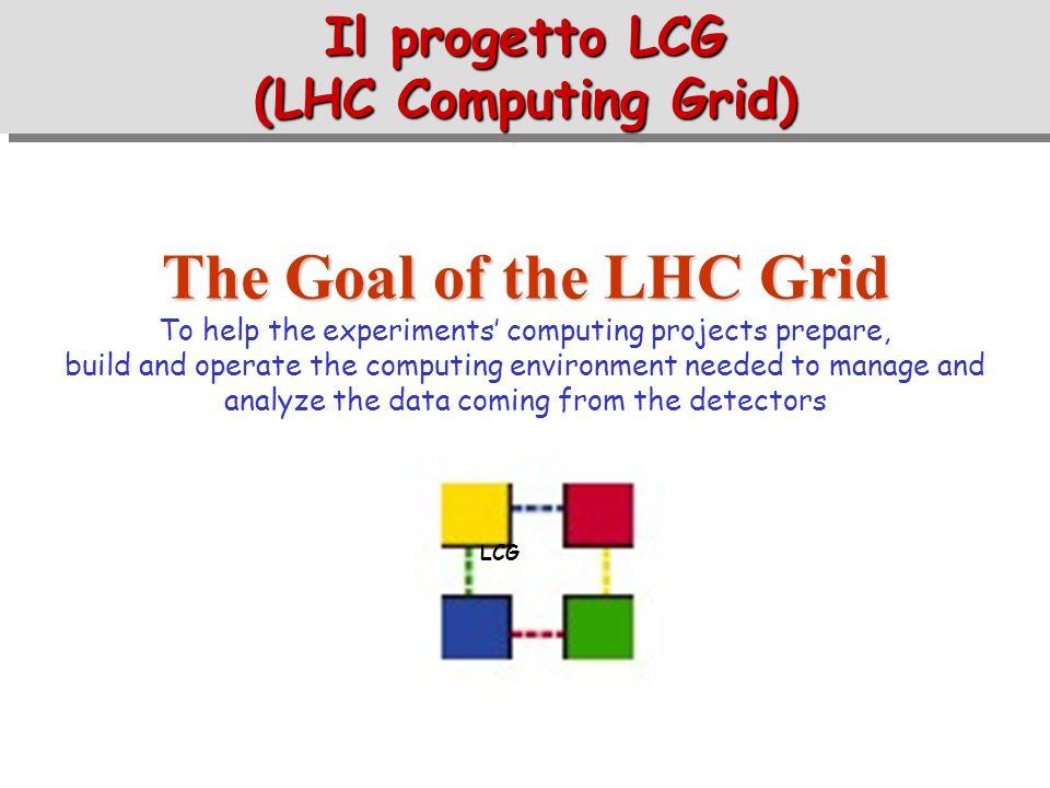 Il progetto LCG (LHC Computing Grid)