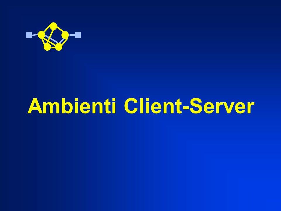 Ambienti Client-Server