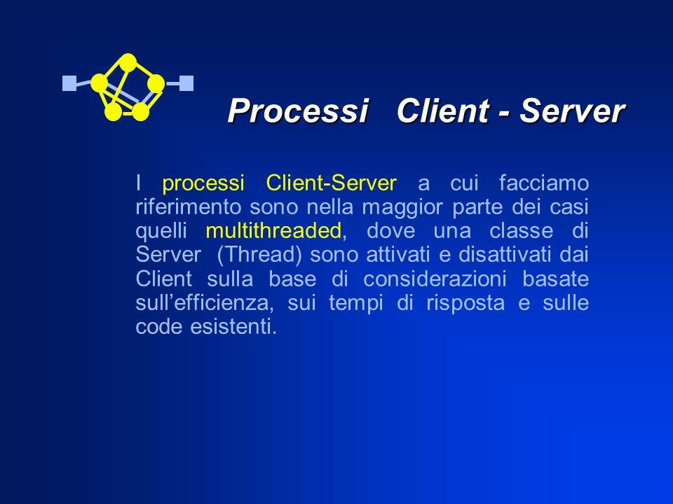 Processi Client - Server