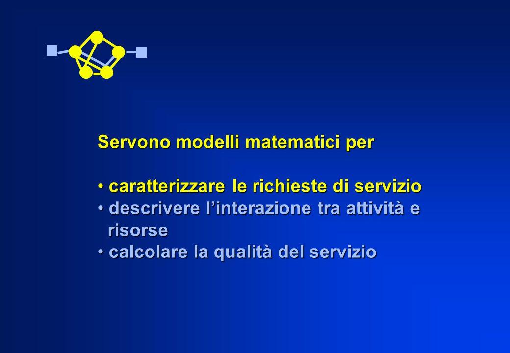 Servono modelli matematici per
