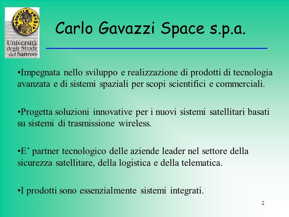 Carlo Gavazzi Space s.p.a.