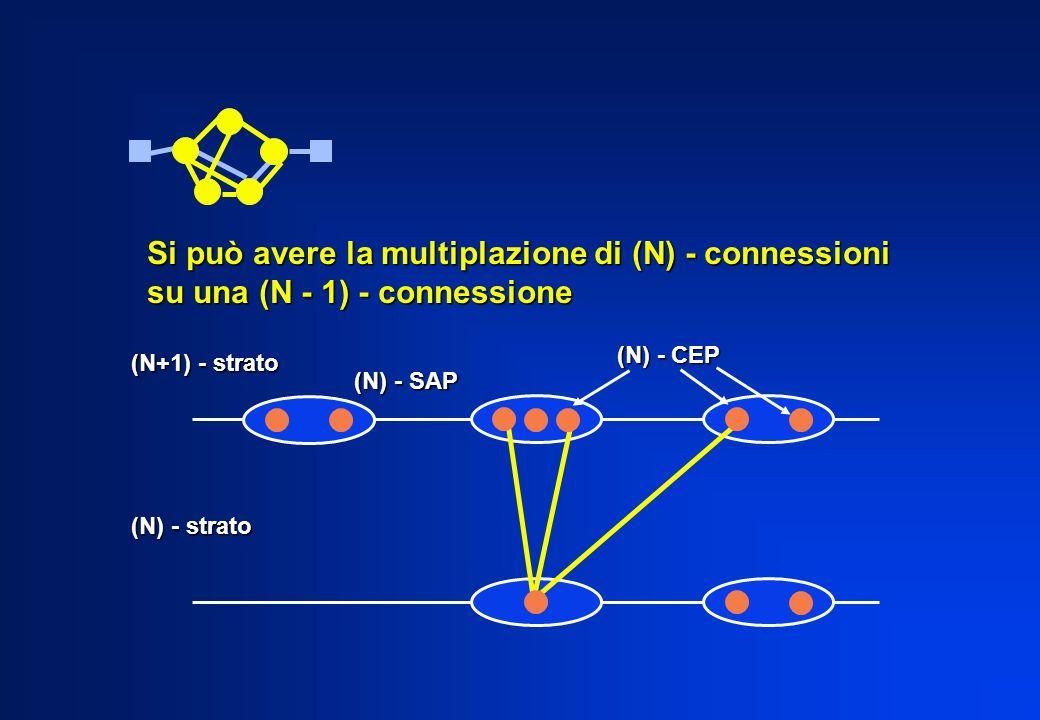 Si può avere la multiplazione di (N) - connessioni