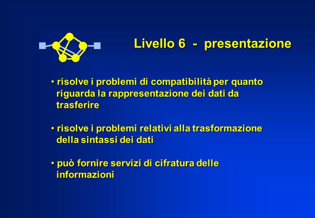 Livello 6 - presentazione