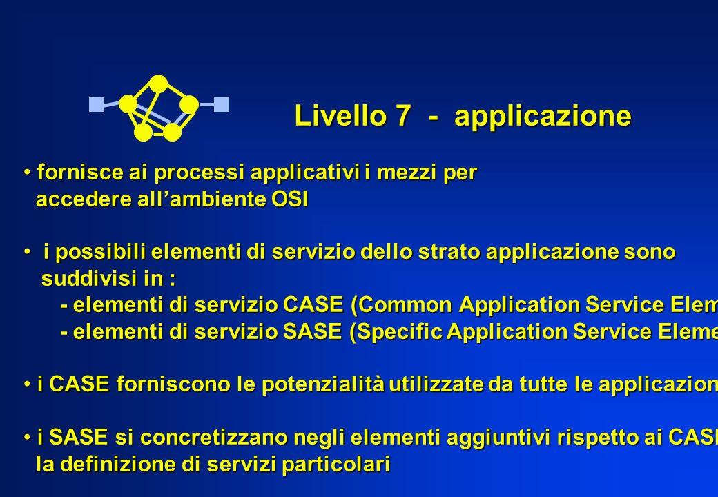 Livello 7 - applicazione