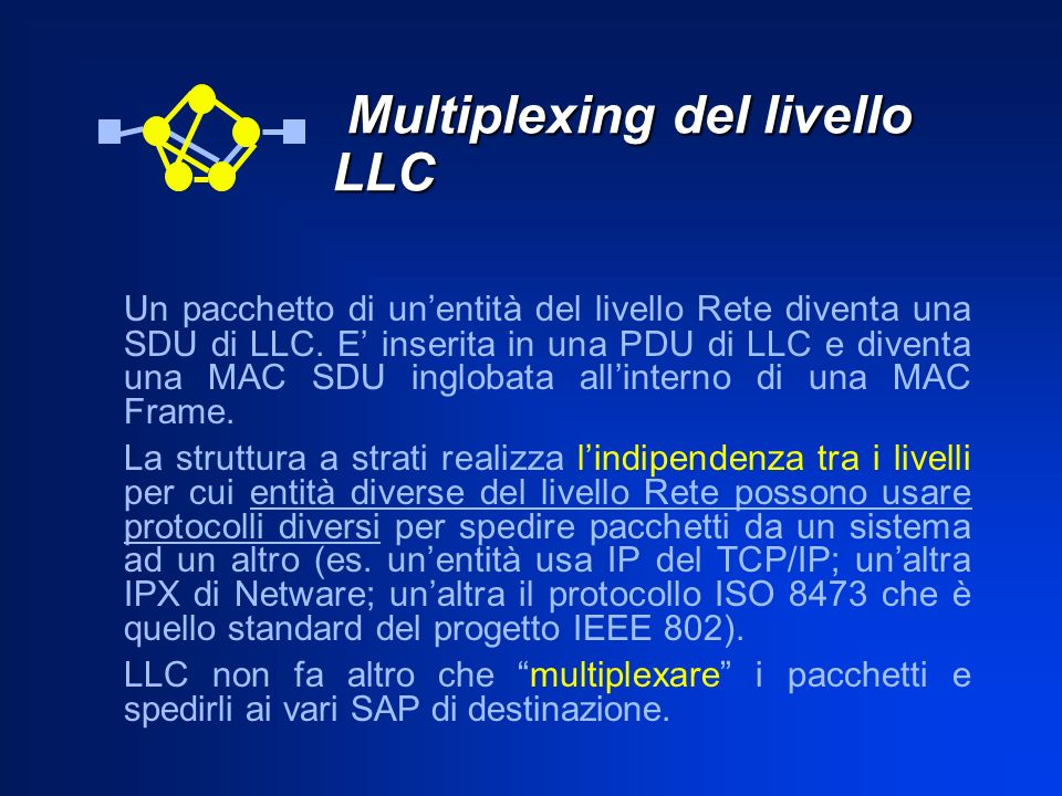 Multiplexing del livello LLC