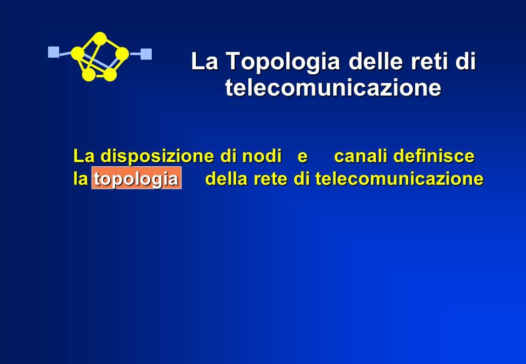 La Topologia delle reti di telecomunicazione
