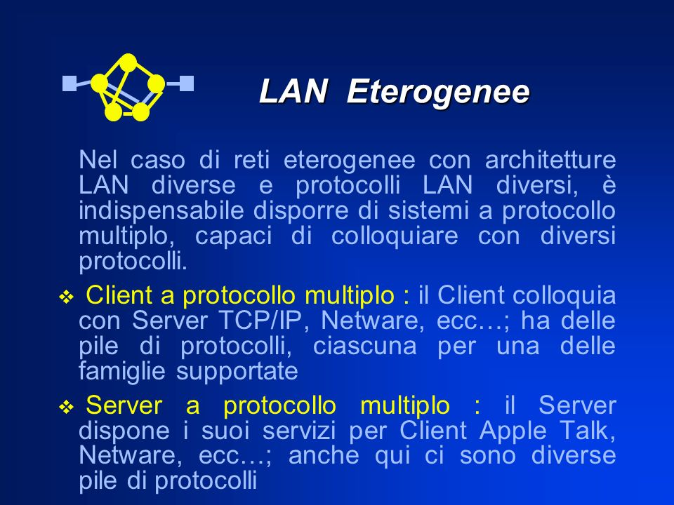LAN Eterogenee