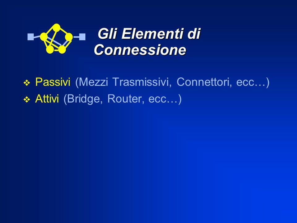 Gli Elementi di Connessione