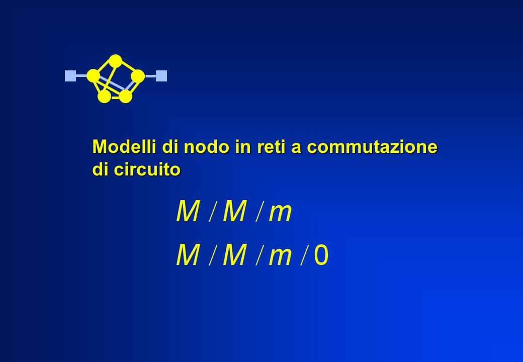 Modelli di nodo in reti a commutazione