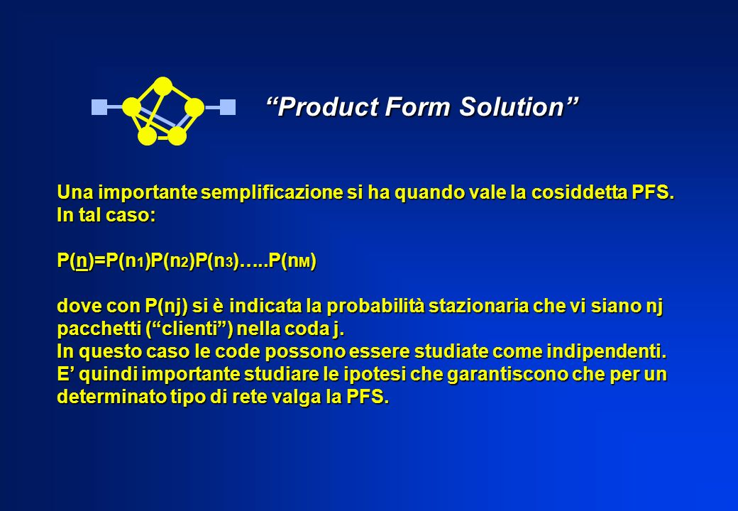 Product Form Solution