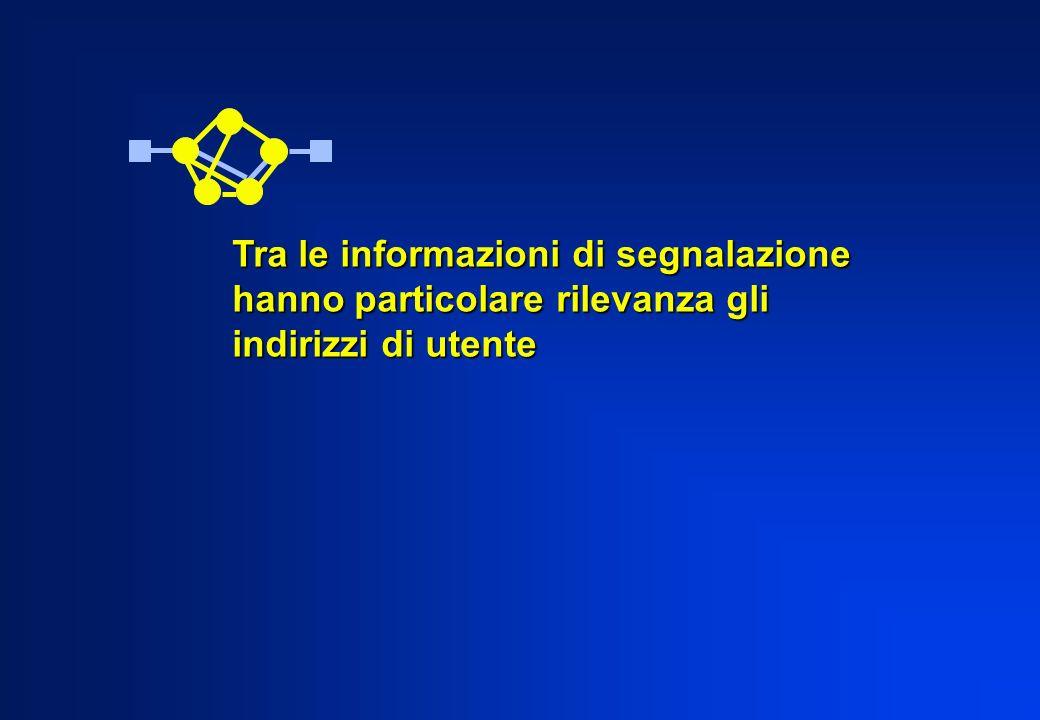 Tra le informazioni di segnalazione