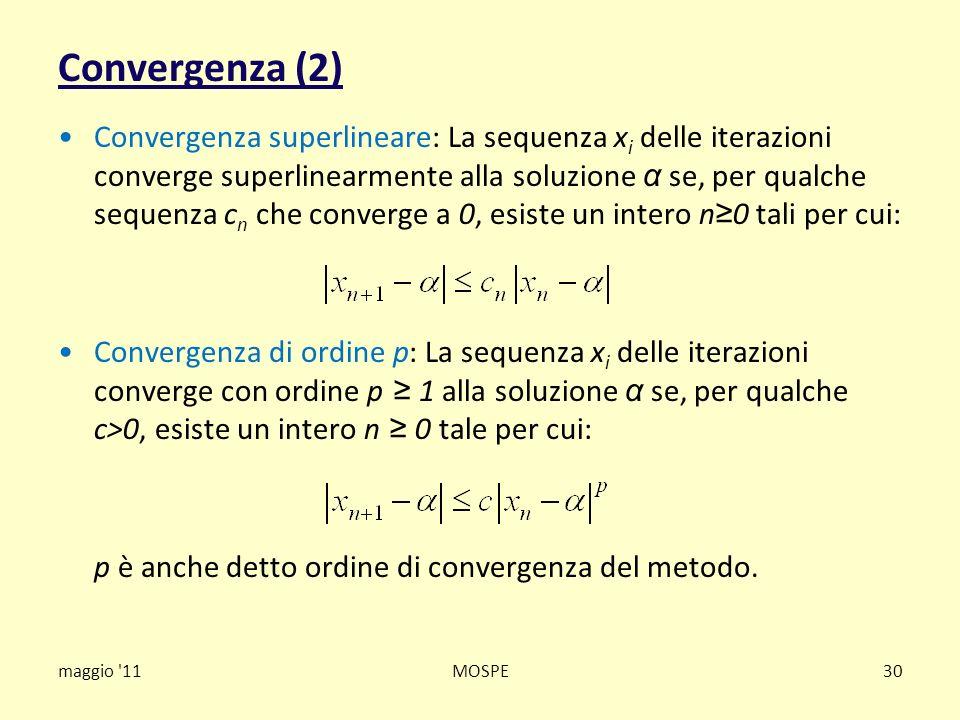 Convergenza (2)