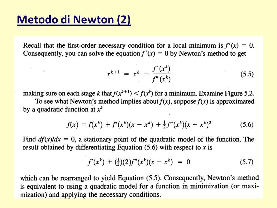 Metodo di Newton (2) maggio 11 MOSPE