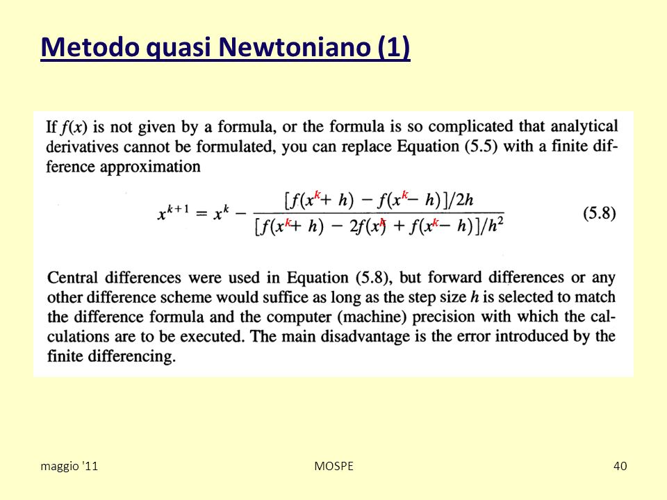 Metodo quasi Newtoniano (1)