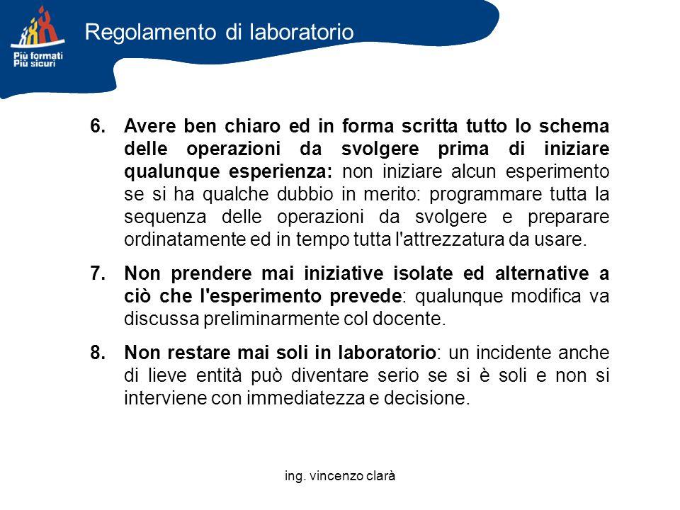 Regolamento di laboratorio