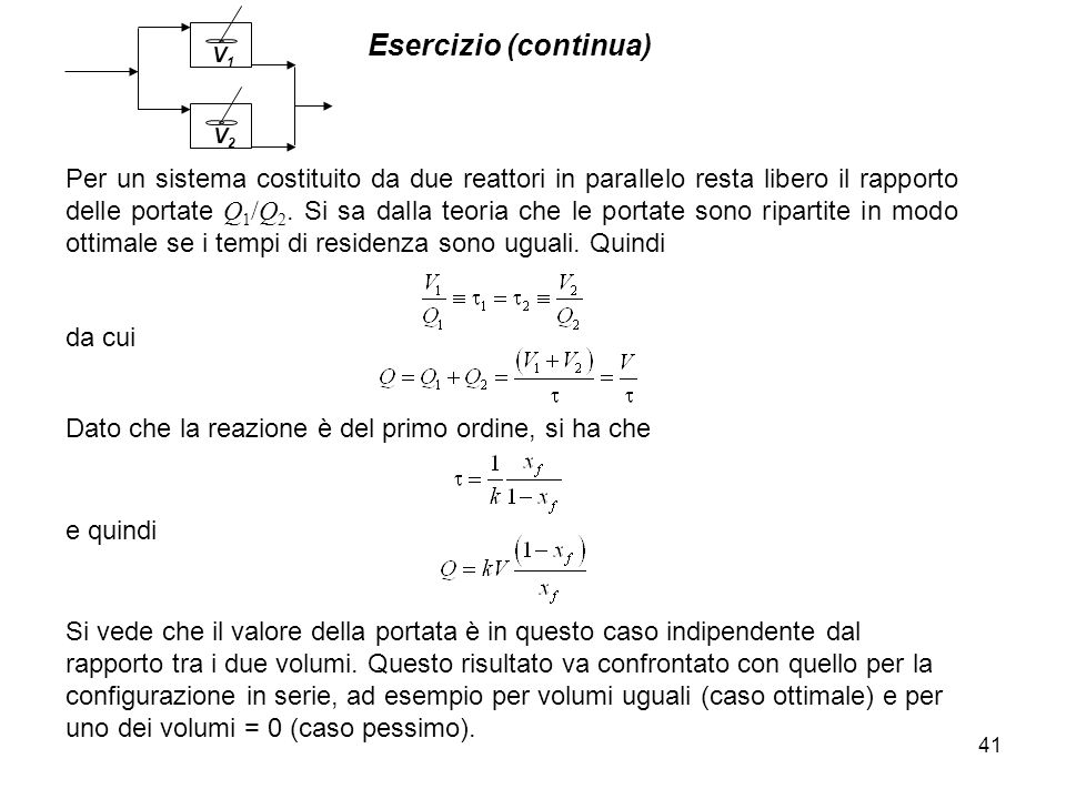 V2 V1. Esercizio (continua)