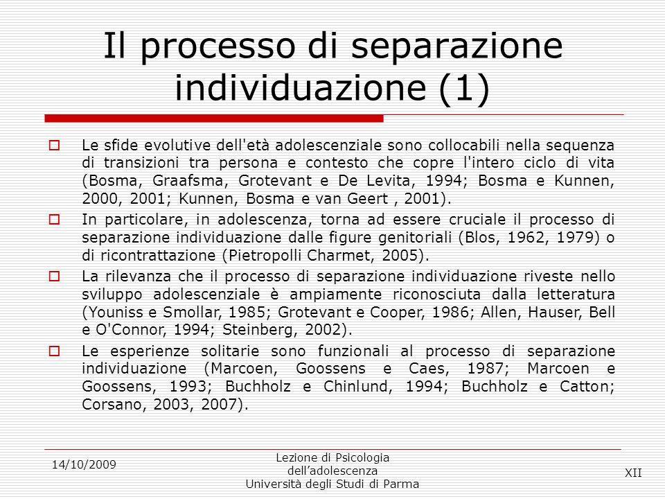 Il processo di separazione individuazione (1)