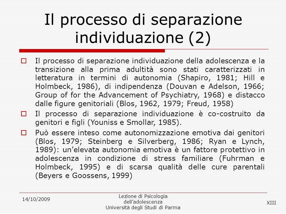 Il processo di separazione individuazione (2)