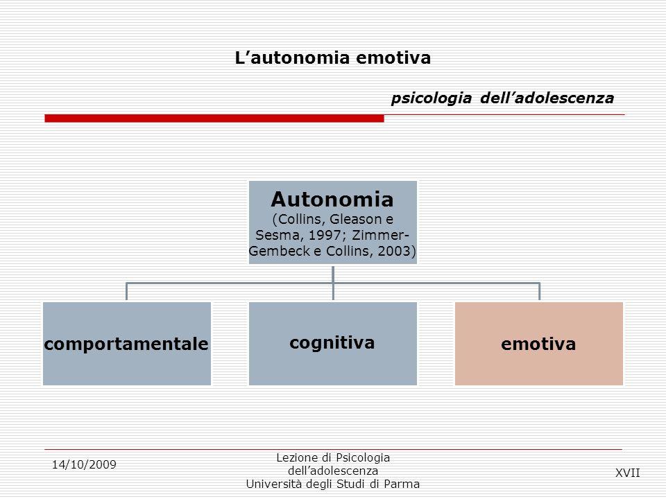 L'autonomia emotiva psicologia dell'adolescenza