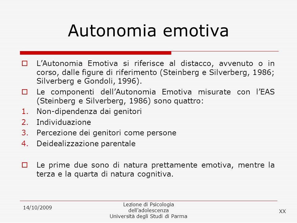 Autonomia emotiva