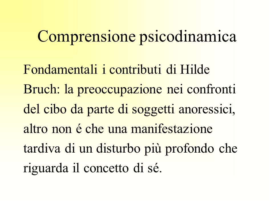 Comprensione psicodinamica