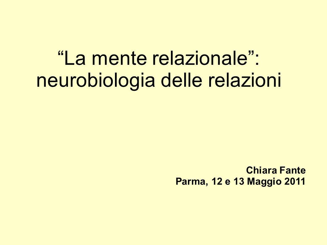 La mente relazionale : neurobiologia delle relazioni