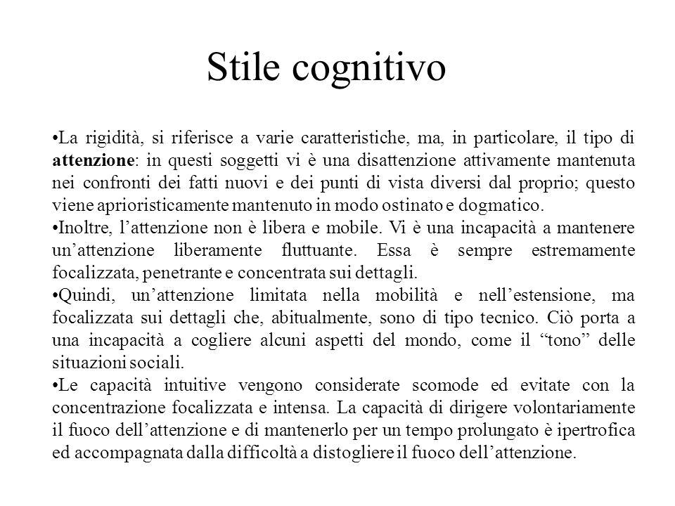 Stile cognitivo