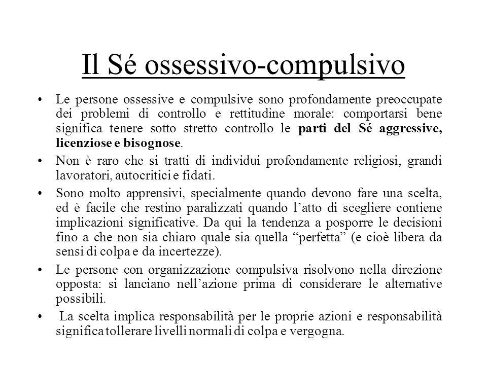 Il Sé ossessivo-compulsivo