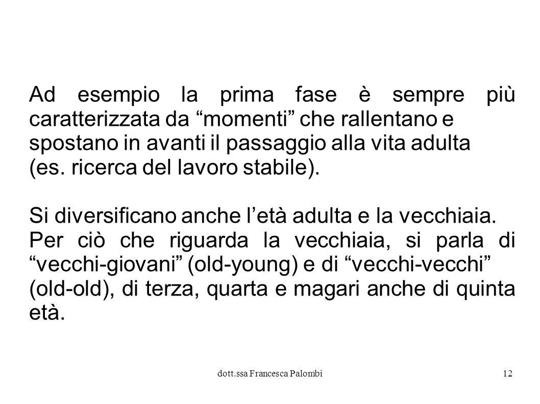 dott.ssa Francesca Palombi