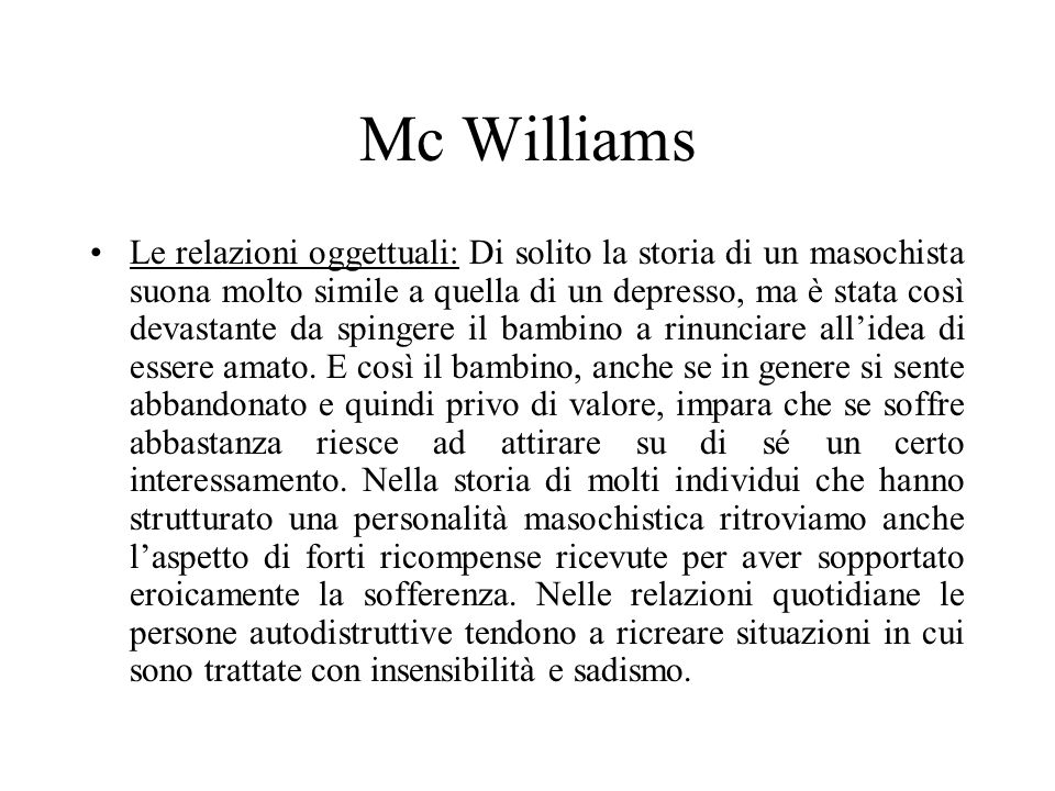 Mc Williams