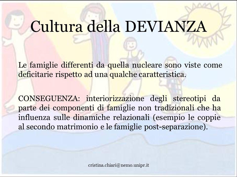 Cultura della DEVIANZA