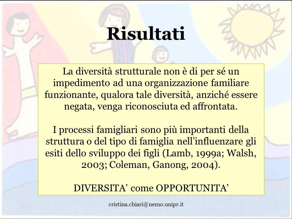 DIVERSITA' come OPPORTUNITA'
