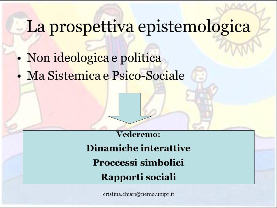 La prospettiva epistemologica
