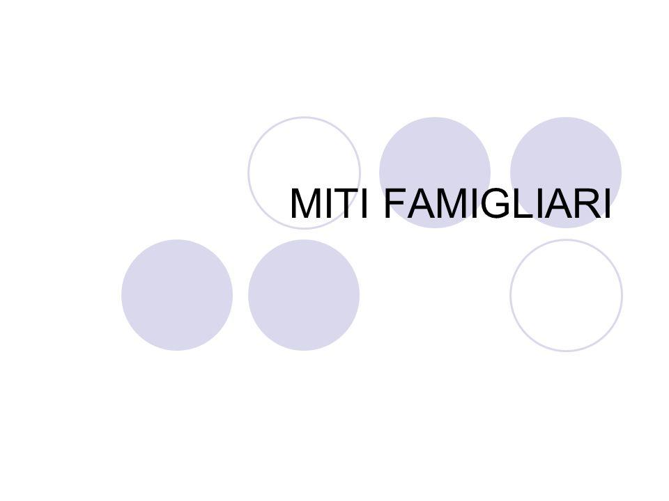 MITI FAMIGLIARI
