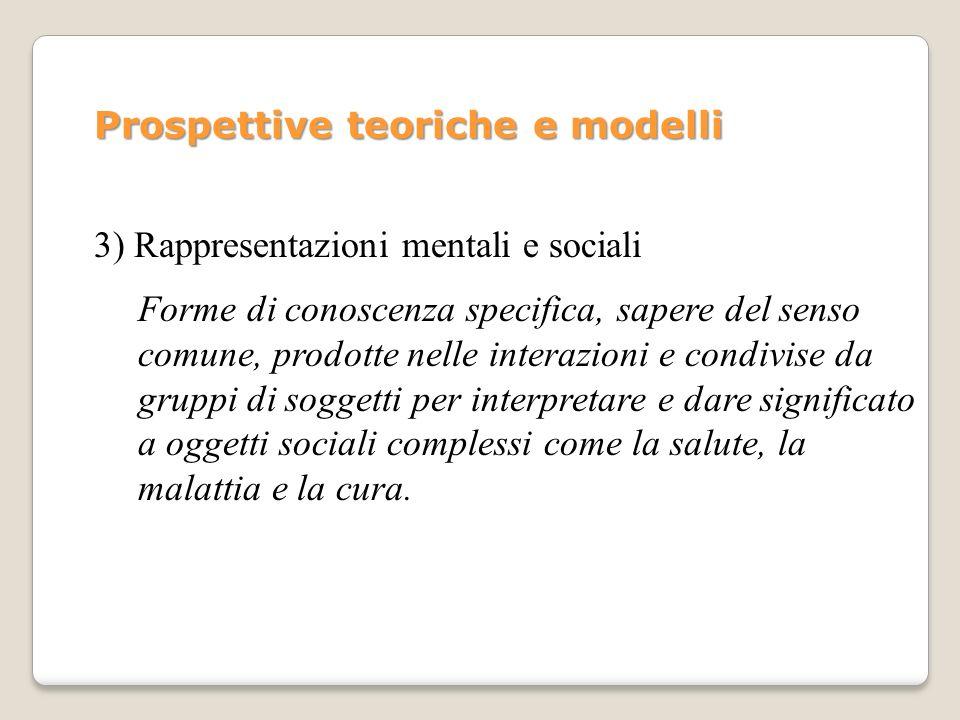 Prospettive teoriche e modelli