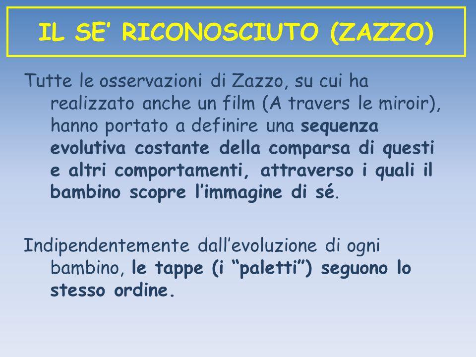 IL SE' RICONOSCIUTO (ZAZZO)