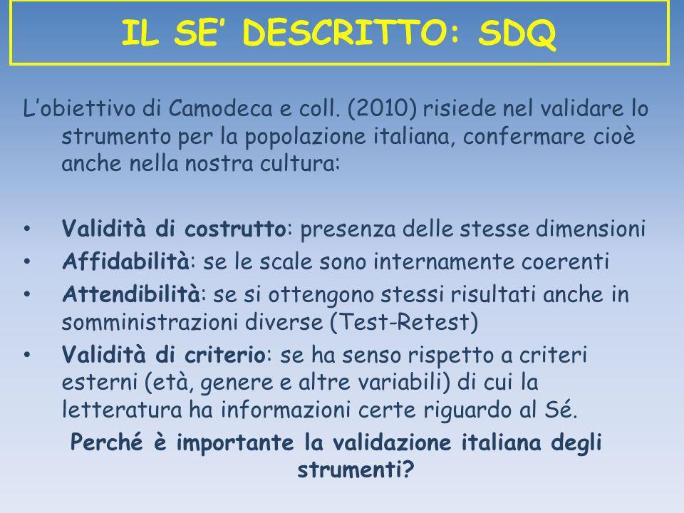 Perché è importante la validazione italiana degli strumenti