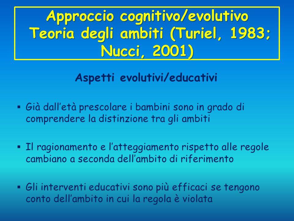 Aspetti evolutivi/educativi