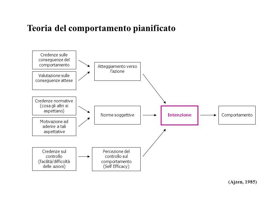 Teoria del comportamento pianificato