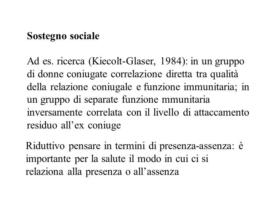 Sostegno sociale
