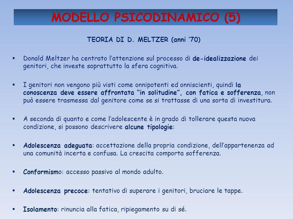 MODELLO PSICODINAMICO (5)
