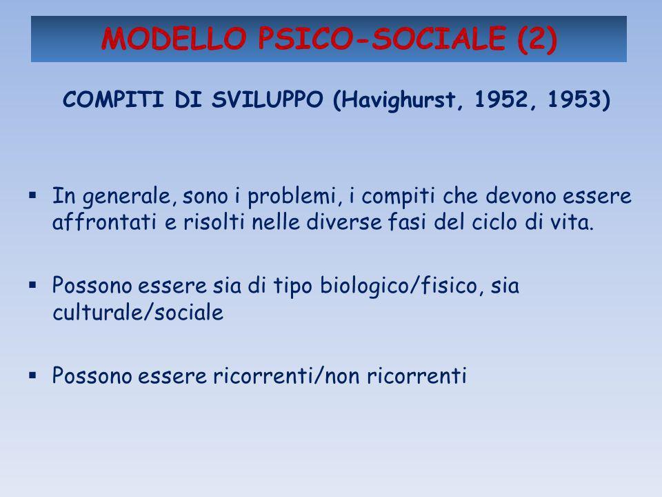 MODELLO PSICO-SOCIALE (2)
