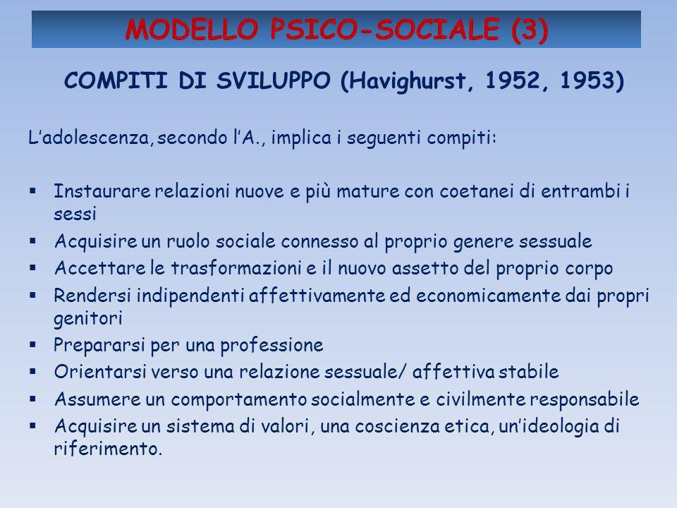 MODELLO PSICO-SOCIALE (3)