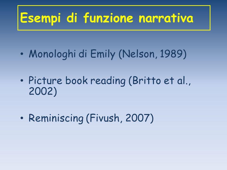 Esempi di funzione narrativa