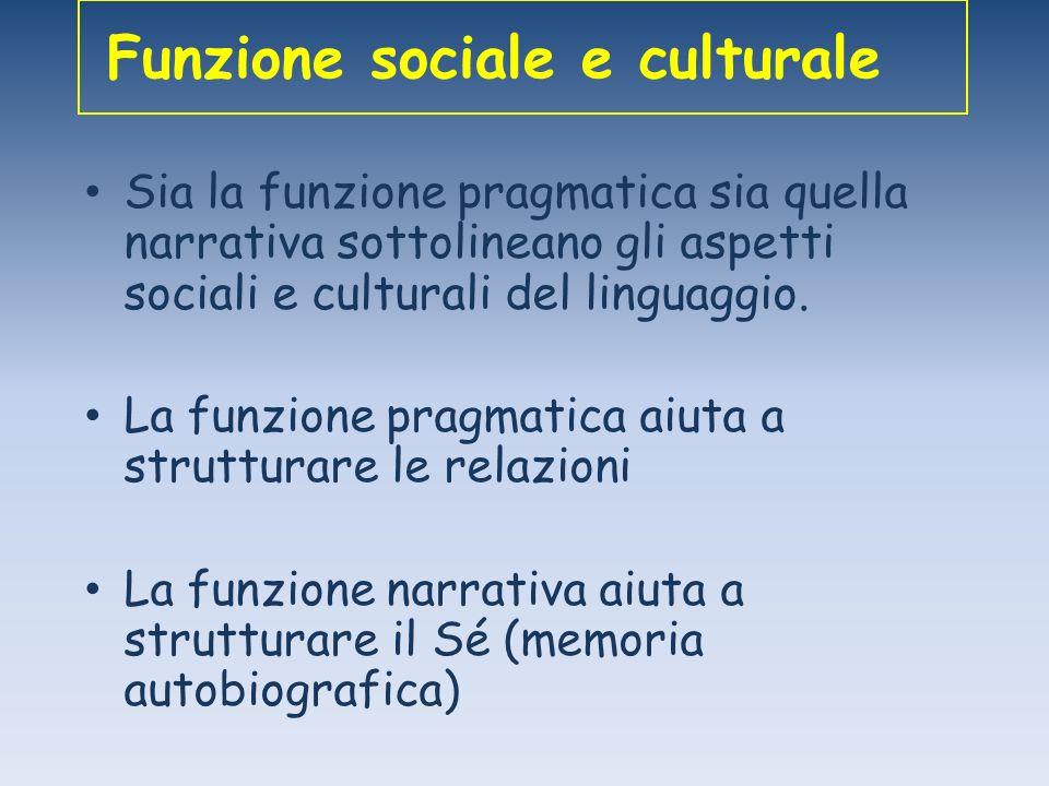 Funzione sociale e culturale