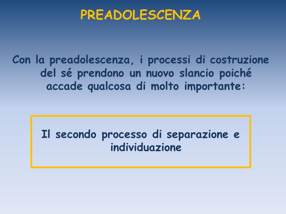 Il secondo processo di separazione e individuazione