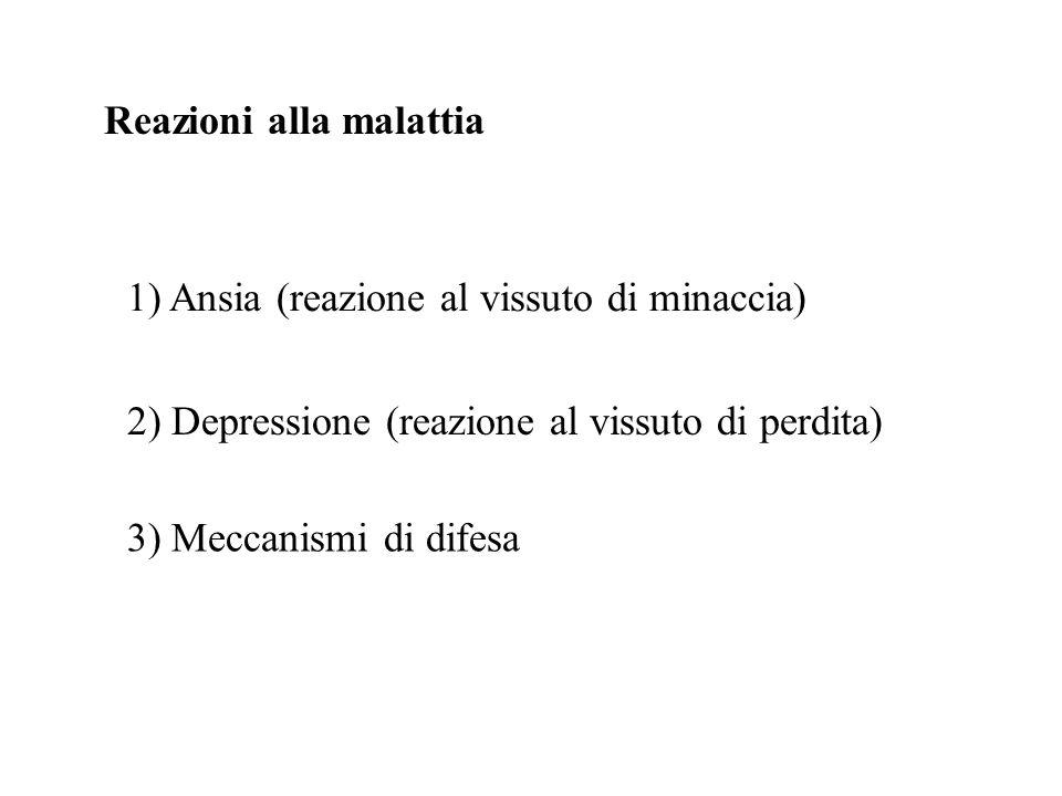 Reazioni alla malattia
