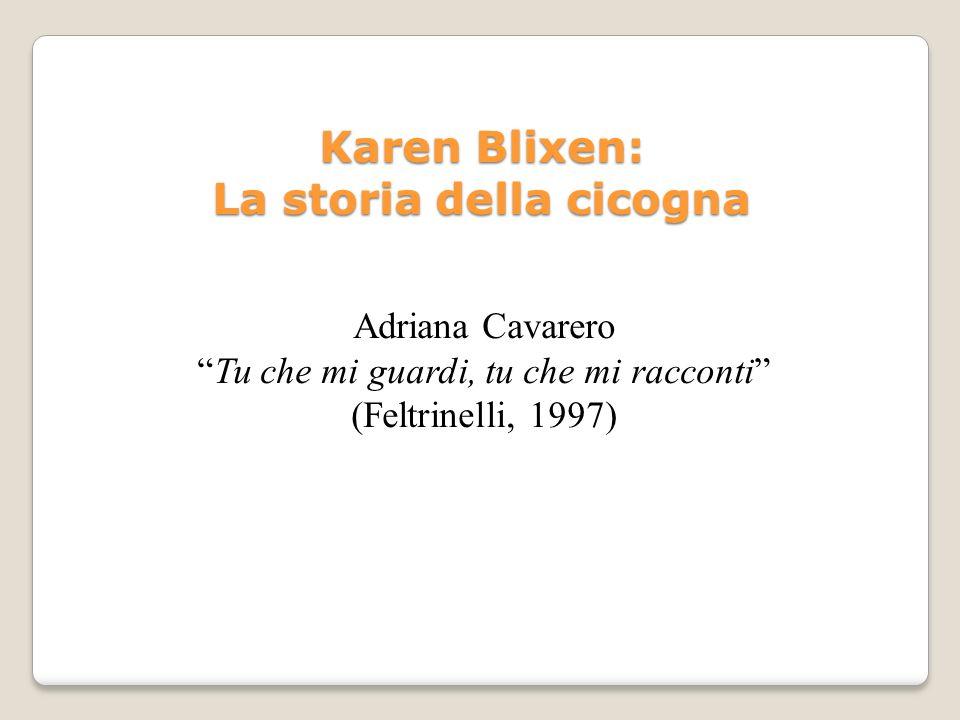 Karen Blixen: La storia della cicogna
