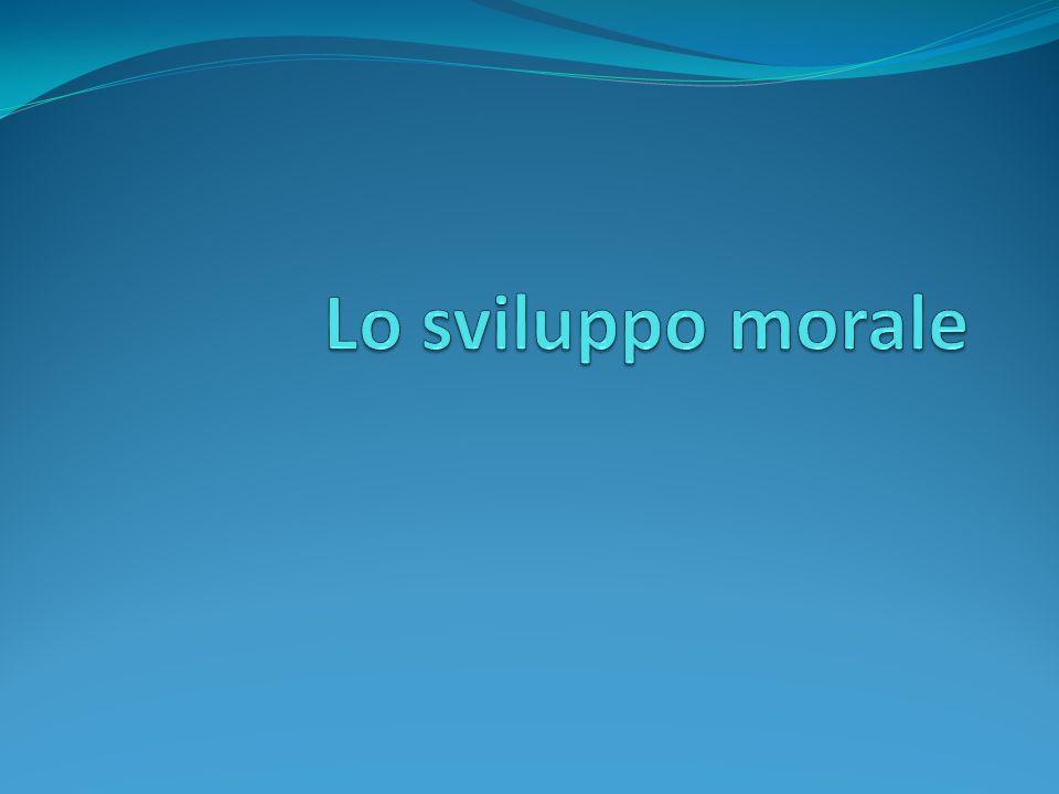 Lo sviluppo morale