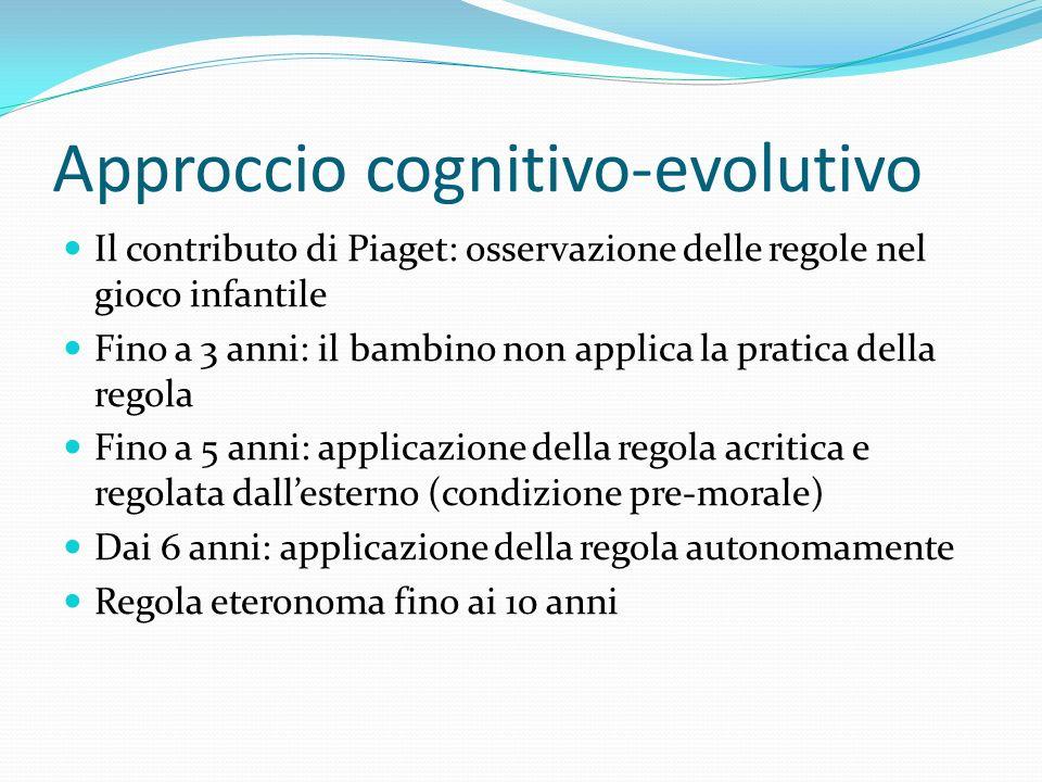 Approccio cognitivo-evolutivo